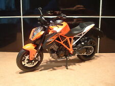 1:12 KTM 1290 SUPERDUKE DUAL SPORT MODEL SUPERB DETAIL FANTASTIC ORANGE