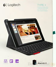 LOGITECH Protective Case with Integrated Keyboard for iPad Air 2