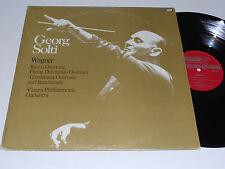 WAGNER Georg Solti M- Vienna Philharmonic CS-6782 London ffrr Rienzi Dutchman