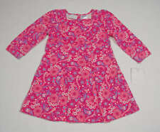 LIZ CLAIBORNE GIRLS 18M DRESS NWT PINK PAISLEY CAPE COD COLLECTION PREPPY NEW