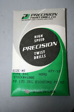 PRECISION TWIST 12PK #5 TWIST DRILL 135 DEG  BICKFORD PT  #41005