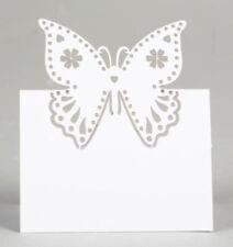 Centritavola e decorazioni bianche in carta per il matrimonio