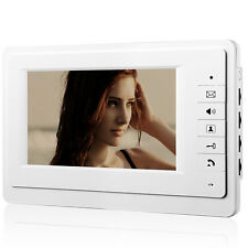 "7"" LCD Color Intercom Indoor Monitor Home Doorbell Handfree Video Door Phone"