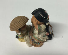 Enesco Friends Of The Feather Figurine She Who Plays Well With Others 1997