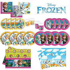 FROZEN Princess Birthday Party Tableware Decorations Accessories Job Lot