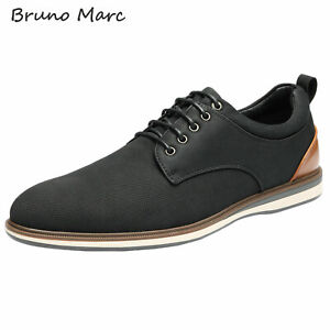 Bruno Marc Mens Casual Shoes Lace up Formal Dress Shoes Oxford Shoes Size 6.5-13