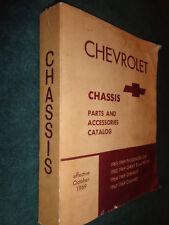 1962-1969 CHEVROLET CHASSIS PARTS BOOK / CAMARO CHEVELLE NOVA IMPALA EL CAMINO