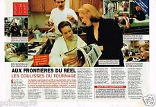 Coupure de presse  Clipping 1996 (4 pages) Aux Frontières du réel