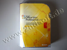 Visio 2007 Professional Vollversion, deutsch - neu, SKU: D87-02789