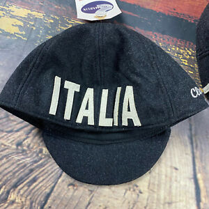 NWT Mens ITALIAN Vintage  Wool Blend Cycling Road Bike Hat Cap OSFA Giro Classic