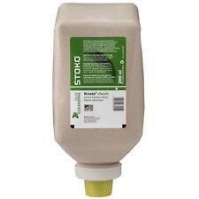 Case of 6 Stoko 2000ml Soft bottle Kresto Extra Heavy Duty Hand Cleaner #9870450