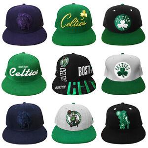 NWOT Boston Celtics NBA Fitted Hats New Era Mitchell & Ness adidas Reebok