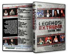 Legends of Extreme Season 2 - 5 Disc Set DVD ECW Steve Corino Shane Douglas Lynn