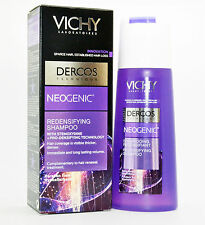 VICHY Dercos Neogenic Redensifying Shampoo 200ml-6.8Fl.Oz Hairloss.New with box.