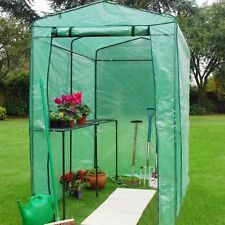 Extra Grande 6ft x 4ft Invernadero Cultivo CASA 15.2cm plantar planta Pesado PVC