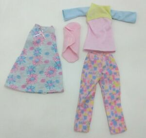 Happy Family Midge & Baby Doll Clothes Barbie Dress Shirt Pants Clothing Swaddle