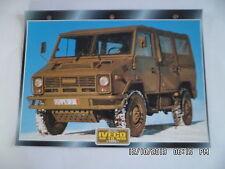 CARTE FICHE CAMION MILITAIRE IVECO 40 - 10 WM 1995