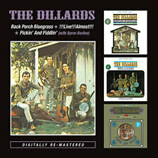 The Dillards : Back Porch Bluegrass/!!!Live!!!Almost!!!/Pickin' and Fiddlin' CD