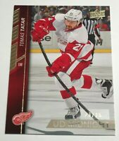 Tomas Tatar /25 made UD Midnight Exclusives Insert Parallel Hockey Card 69