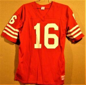 SAN FRANCISCO 49ERS JOE MONTANA NFL JERSEY
