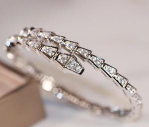 Serpenti Bracelet (diamond snake 18k gold bracelet)