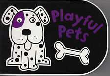 Black and White Playful Pets: Chunky Board Book by Holly Brook-Piper (Board book