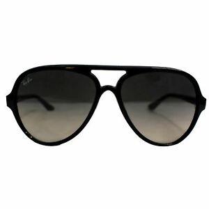 RAY-BAN RB4125 601/32 Cats 5000 Classic Sunglasses Grey Gradient Lens