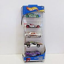 Hot Wheels 2002 Diecast Serpent Cyclone 5 Car Gift Pack, Unopened Pkg