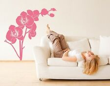 Orchid Branch - Highest Quality Wall Decal Stickers