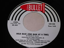 Z.Z. Hill: Hold Back (One Man At A Time) / Put A Little Love In Your Heart 45