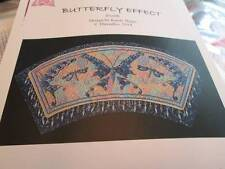 Threedles Butterfly Effect Canvaswork Needlepoint CHART-310x130 Stitches- 3 Colo