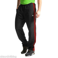adidas Climalite Essentials Woven Tracksuit Pant Bottoms Black NTP5