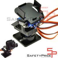 Plataforma giratoria 2 ejes FPV Pan Tilt servo SG90 y MG90 (no incluye servos)SP