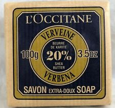 L'Occitane Perfumed Bar Soap Verveine Verbena 20% Shea 100g/3.5oz France