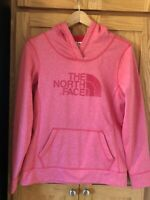 THE NORTH FACE SWEATSHIRT HOODIE PULLOVER PINK WOMENS SIZE SMALL