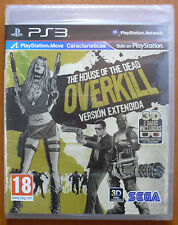 The House of The Dead: Overkill, SEGA, PlayStation 3 PS3, Pal-España ¡¡NUEVO!!