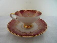 A fine cabinet cup and saucer Johann Seltmann Bavaria Vintage Very Pretty