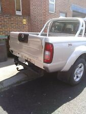 Towbar for Nissan Navara 4WD Pickup (W Bumper/Step)1998-2005-Flange Tow Bar USED