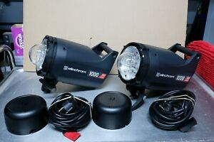 2X Elinchrom ELC 1000 PRO HD professional flash high end