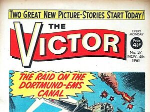 VICTOR #37 - 4th NOVEMBER 1961 (see dates) RARE 60th BIRTHDAY GIFT !! VG+..beano