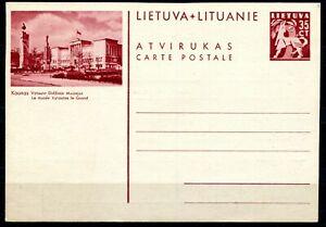 Litauen Bildpostkarte P-33 Kaunas