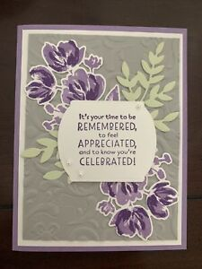 Stampin Up Art Gallery Card Kit