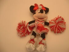 "MINNIE MOUSE HIGHSCHOOL MUSICAL CHEERLEADER(Disneyland)15"" PLUSH DOLL.NEW w/Tags"