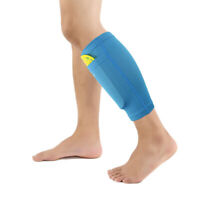 Sport Soccer Leg Shin Pads Guard Socks Football Calf Sleeves with Pocket Holding