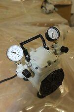 Welch WOB-L Pump 2522B-01 Laboratory Vacuum Pump & Pressure  WORKING