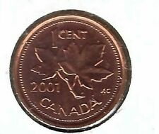 2001 Canadian Uncirculated One Cent Coin!