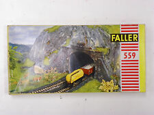 "FALLER HO U/A ""TUNNEL PORTAL"" PLASTIC MODEL KIT #559 (MADE IN GERMANY)"
