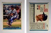 John Wetteland Signed 1992 Donruss #627 Card Montreal Expos Auto Autograph