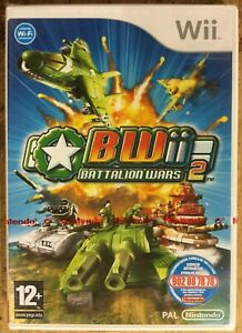 Battlion Wars 2 Wii (Plays in English) Brand New and Sealed FREE UK POSTAGE