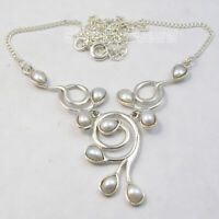 Pearl Necklace 9.6 Grams Christmas Jewelry Sales Jewellery Sterling Silver